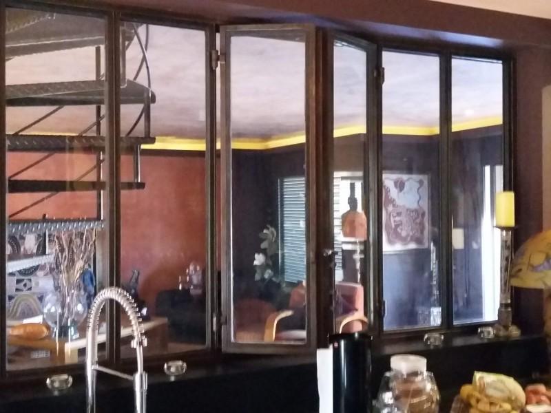 verrière metal création artisanal Alpes-Maritimes paca Ferronnerie serrure 06 Nice