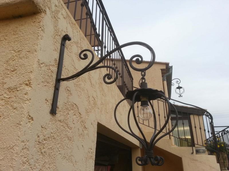 extérieur métal artisanal Alpes-Maritimes Nice 06 décoration paca création ferronnerie