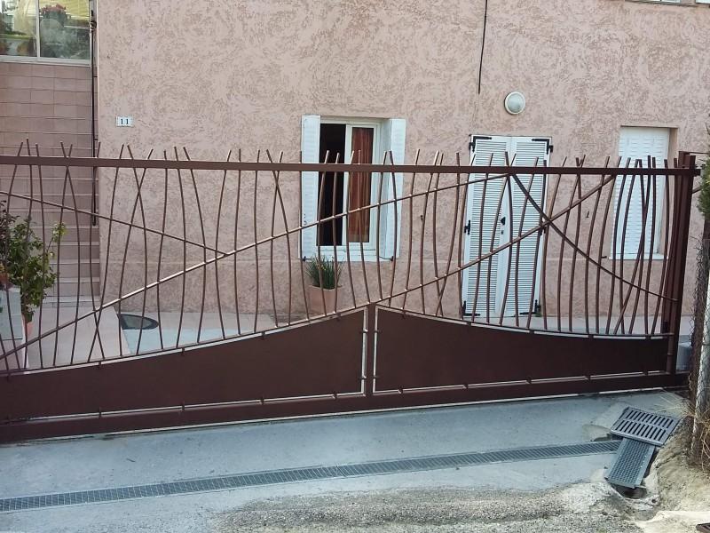 création ferronnerie metal 06 Portail artisanal Nice Alpes-Maritimes paca