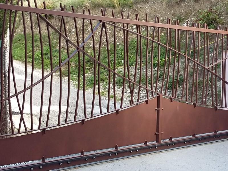 création paca ferronnerie Nice metal 06 Alpes-Maritimes Portail artisanal