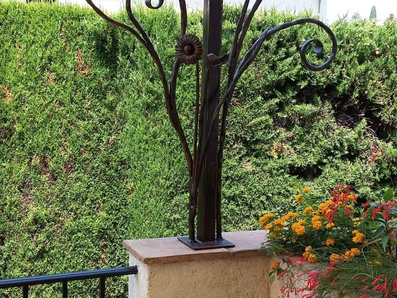 Pergola Nice 06 Alpes-Maritimes création métal ferronnerie paca artisanal