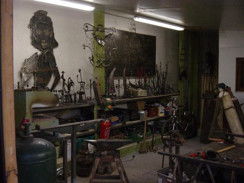 création artistique métal artisanal ferronnerie Nice paca 06 Alpes-Maritimes décoration