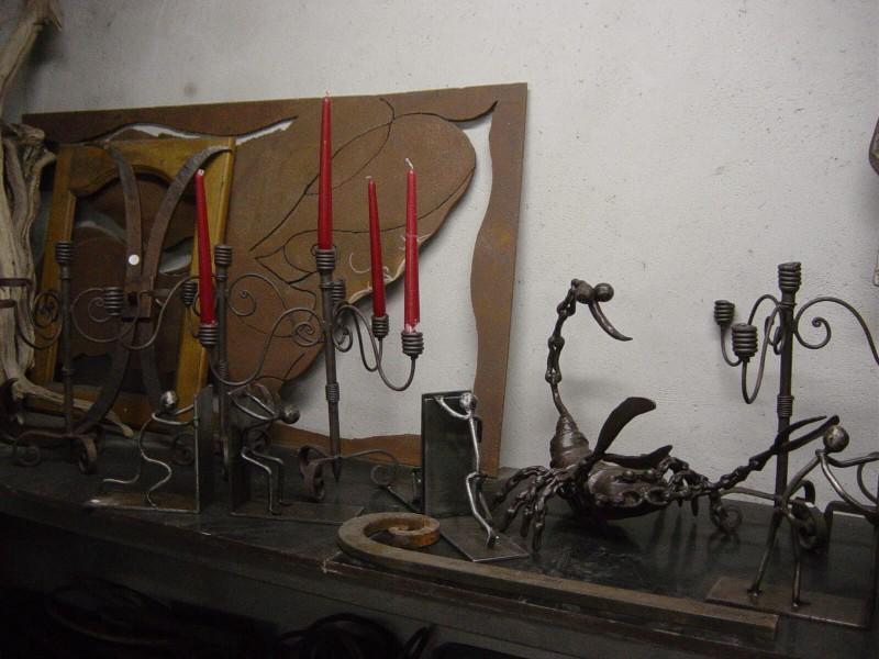 décoration artistique artisanal ferronnerie métal création Nice 06 paca Alpes-Maritimes