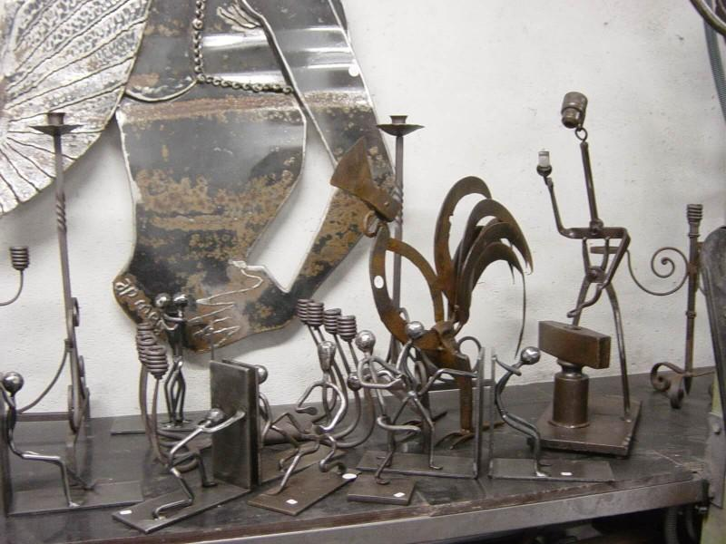 décoration artistique ferronnerie métal création Nice 06 paca Alpes-Maritimes artisanal