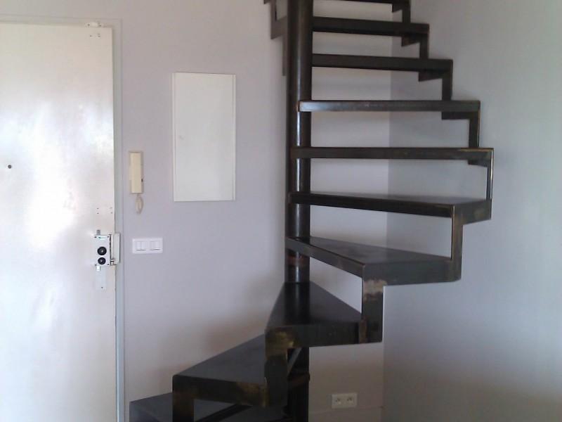 Alpes-Maritimes paca création artisanal 06 ferronnerie métal hélicoïdale Nice Escalier