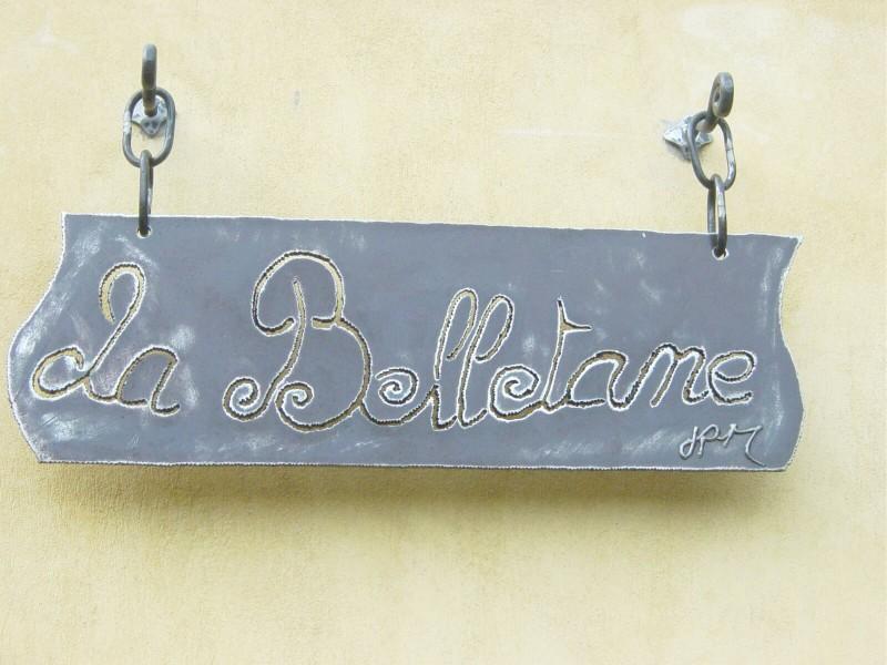 Enseigne décoration création artisanal ferronnerie métal Nice 06 Alpes-maritimes PACA
