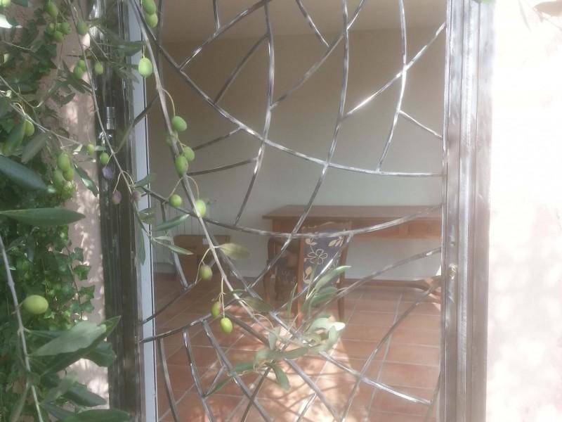 Alpes-Maritimes Grille de defense porte fenêtre Nice 06 paca ferronnerie métal création-artisanal