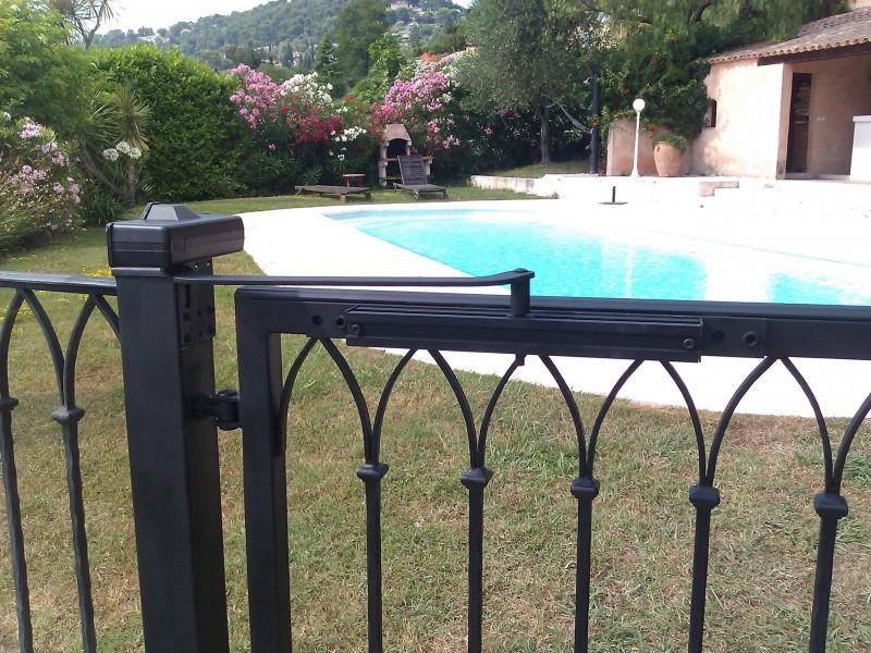 Portillon Nice création artisanal ferronnerie 06 paca Alpes-Maritimes metal