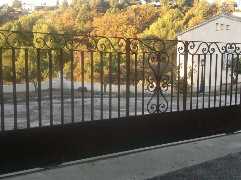 Portail ferronnerie création artisanal Nice metal 06 paca Alpes-Maritimes