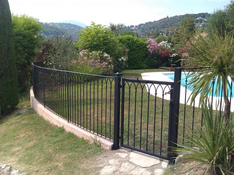 Portillon paca Nice Alpes-Maritimes création artisanal ferronnerie metal 06