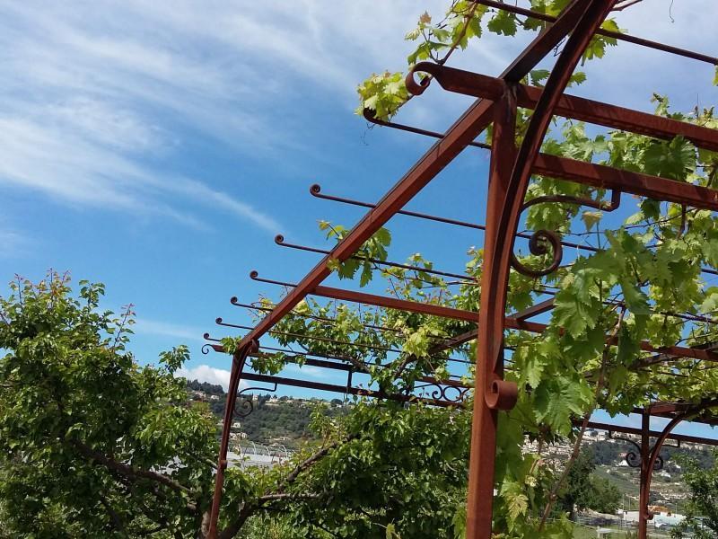 Nice 06 Alpes-Maritimes création ferronnerie paca artisanal Pergola métal