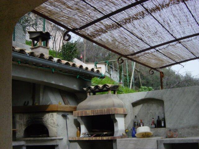 Pergola Nice création artisanal Alpes-Maritimes 06 ferronnerie métal paca